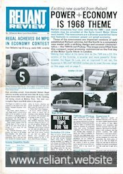 Reliant Review 25