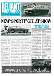 Reliant Review 55