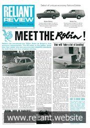 Reliant Review 62