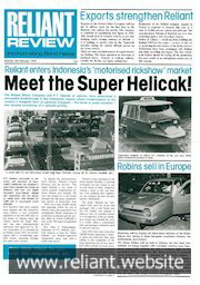 Reliant Review 69