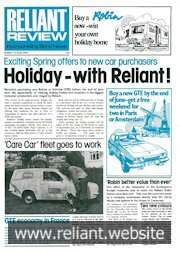 Reliant Review 71