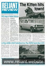 Reliant Review 73