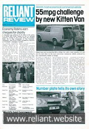 Reliant Review 79