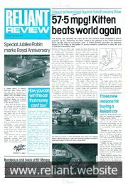 Reliant Review 80