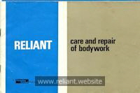 Reliant fibreglass care guide