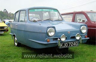 1967 Reliant Regal 3/30 Saloon  21E