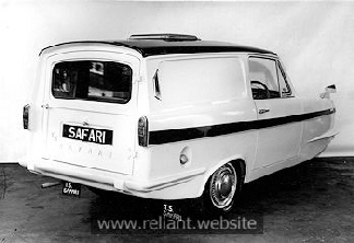 """TS Safari"" Reliant Regal Supervan III"