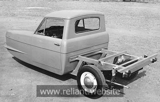Reliant Regal 10cwt pickup